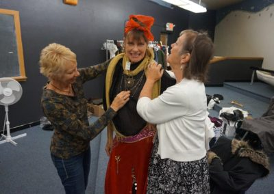 Liz Davies Costume Fitting