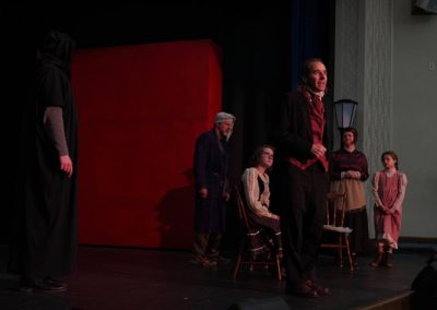 rehearsal cratchit family